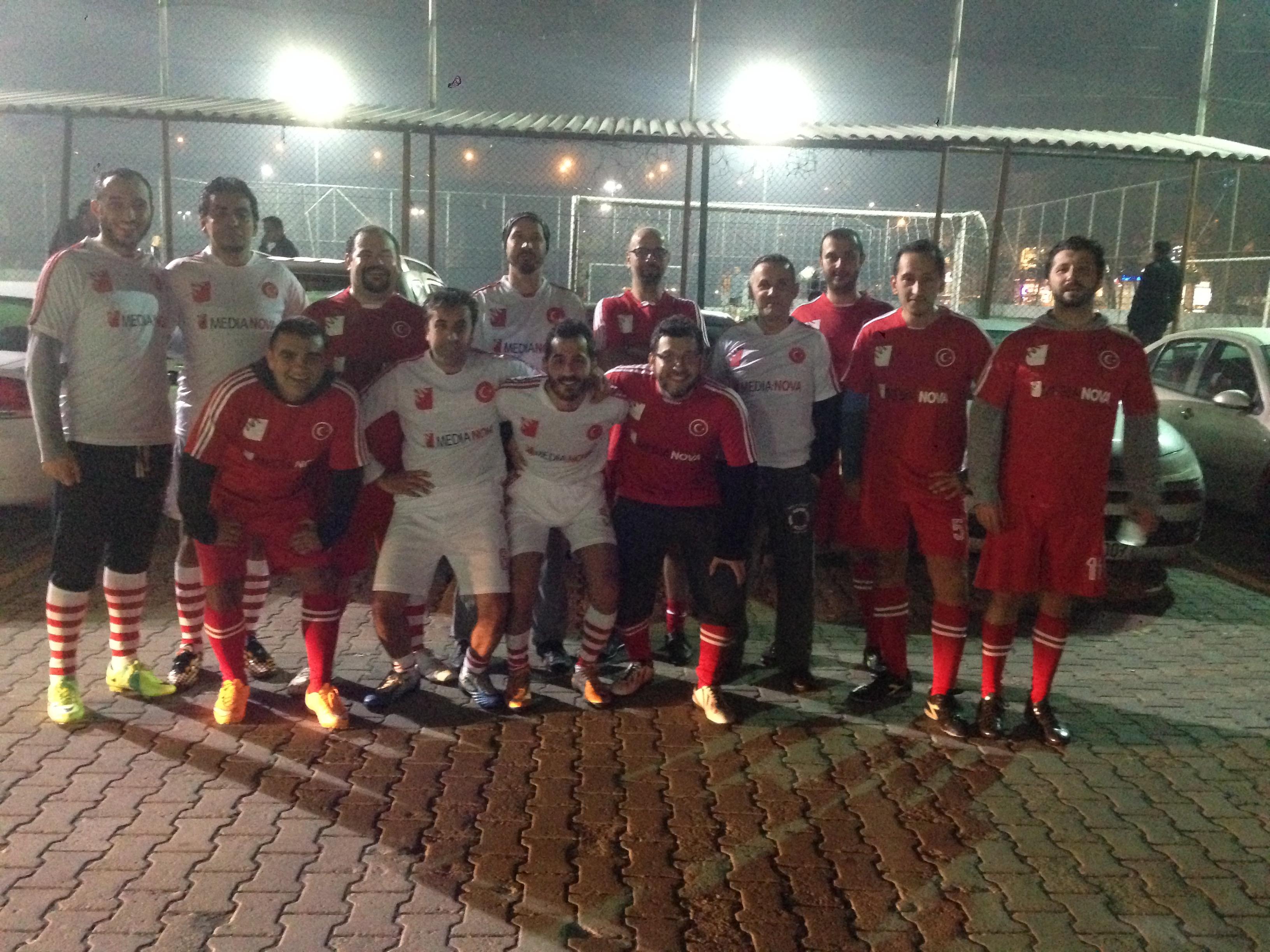 Futbol takımımız