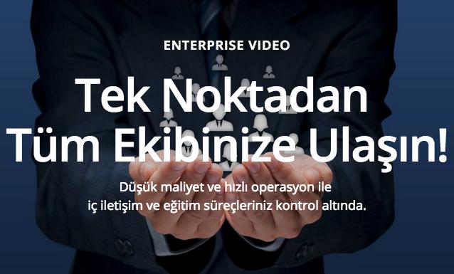 Verimlilik için Kurumsal Video Platformu