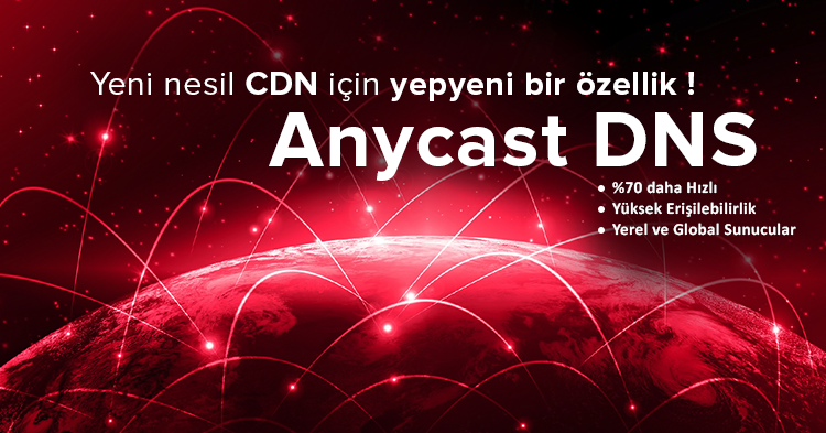CDN features Anycast DNS