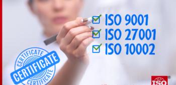 Medianova ISO Standartlarınca Tescillendi!