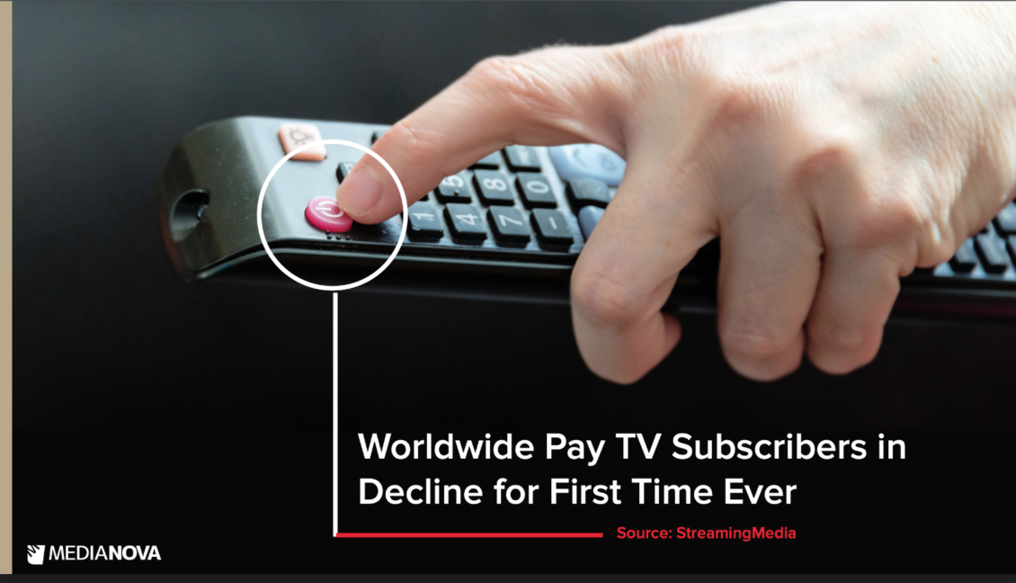 PayTV Subscribers decline for first time ever