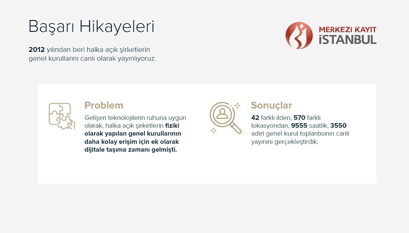 Başarı Hikayeleri - Merkezi Kayıt İstanbul