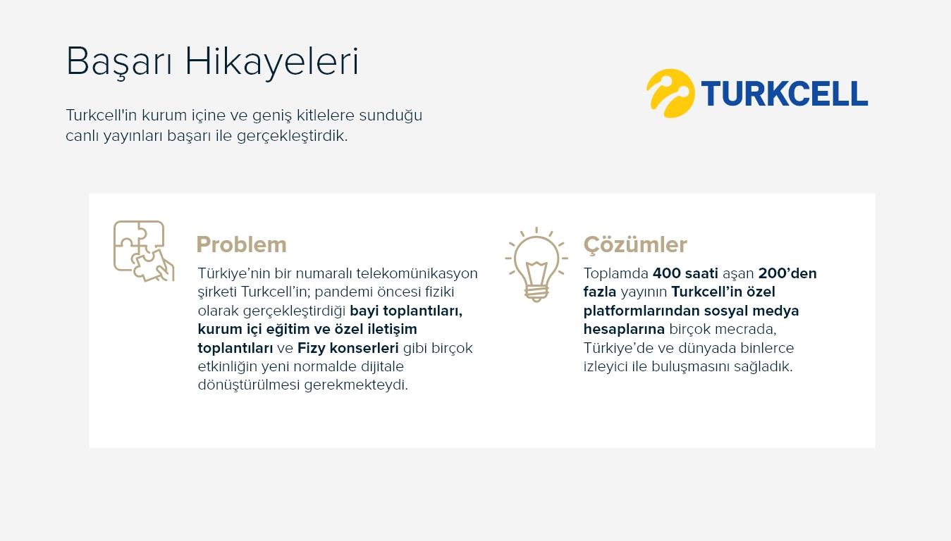 Başarı Hikayeleri - TURKCELL